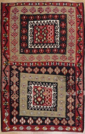 R6608 Vintage Turkish Kilim Rug