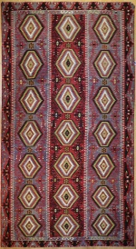 R7884 Vintage Turkish Large Kilim Rugs