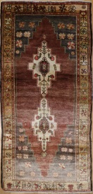 R6781 Vintage Yoruk Turkish Rug