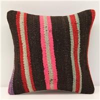 Wonderful Hand Woven Turkish Kilim Cushion Cover S274