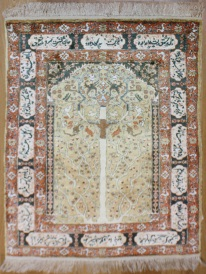 R7969 Wonderful Turkish Hereke Silk Rug