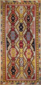 R7826 Wonderful Vintage Turkish Kilims
