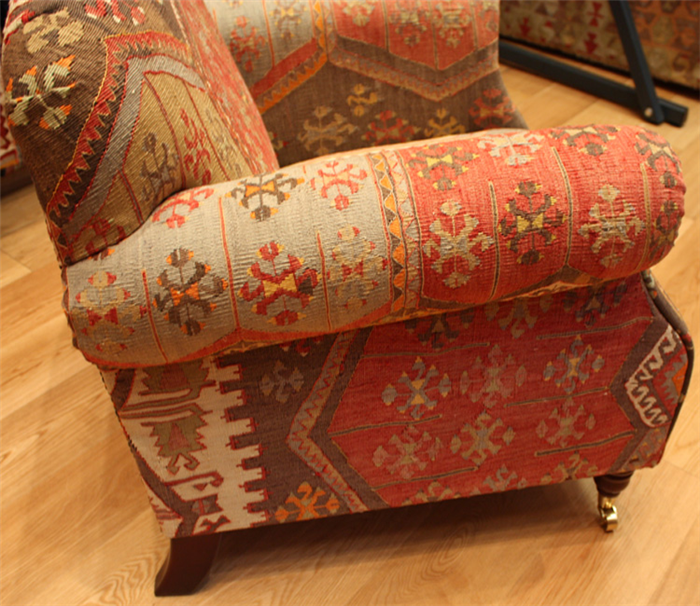 Outstanding R7462 Antique Kilim Chairs Kilim Sofas Kilim Furniture Ibusinesslaw Wood Chair Design Ideas Ibusinesslaworg