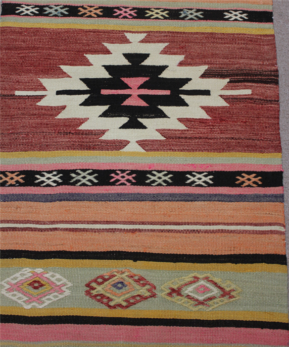 Decorative Turkish Kilim Rug Runners At Low Price In