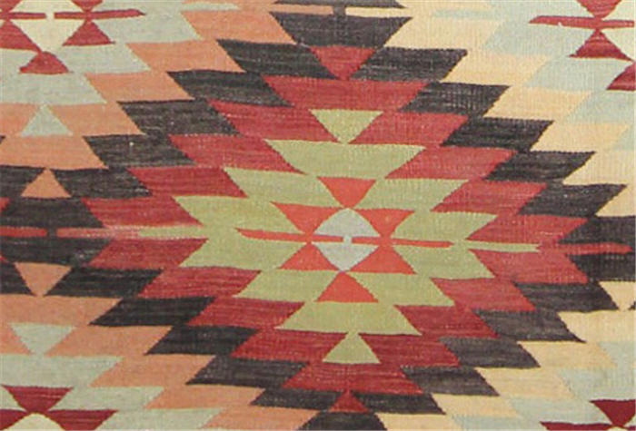 Vintage Turkish Kilim Rugs Overdyed Vintage Rugs Hand