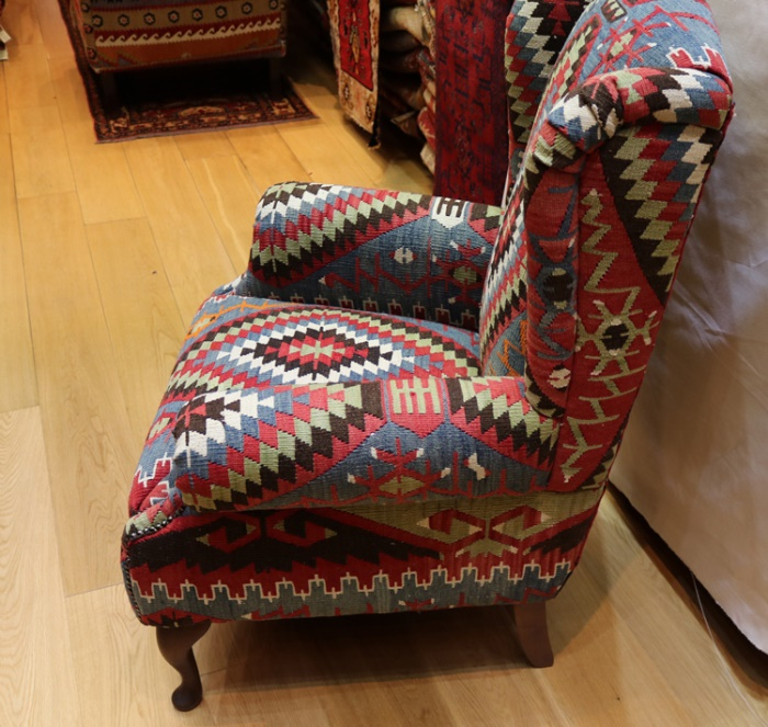 Awesome R5989 Antique Wing Kilim Chairs View One Of The Most Beutiful Home Inspiration Xortanetmahrainfo