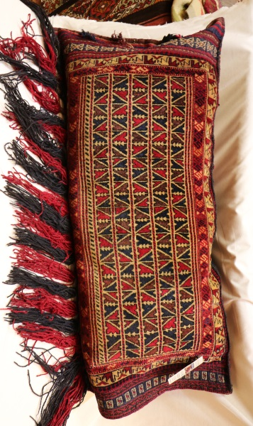 R8391 Afghan Carpet Floor Cushion Cover