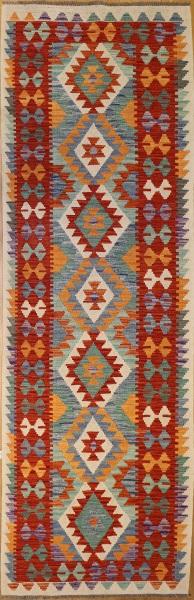 R8905 Afghan Kilim Rug Runner