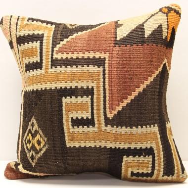 M478 Anatolian Kelim Cushion Cover