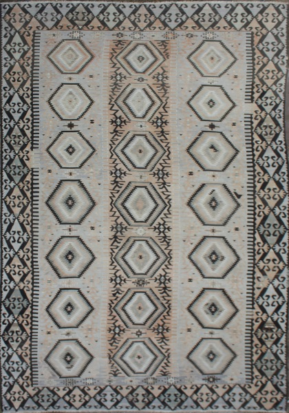 F27 Antique Anatolian Esme Kilim Rug