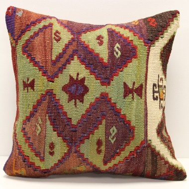 M1451 Anatolian Kilim Cushion Cover