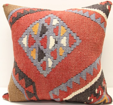 L583 Anatolian Kilim Cushion Cover