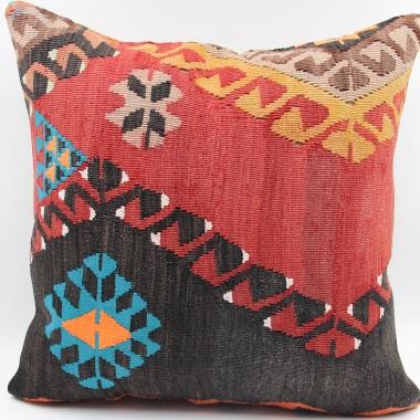 L588 Anatolian Kilim Cushion Cover