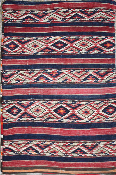 R5614 Anatolian Kilim Floor Cushion Cover