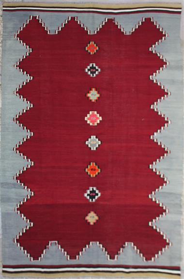 R6829 Anatolian Kilim Rug