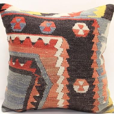 Anatolian Large Kilim Cushion Cover L340
