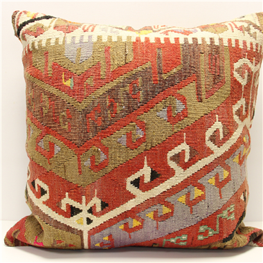 XL320 Anatolian Traditional Wool Kilim Cushion Covers