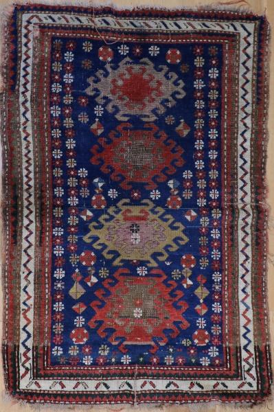 R3312 Antique Kazak Rug