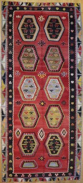R7348 Antique Kilim Rug