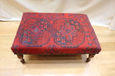 Antique Kilim Stool Table R3996