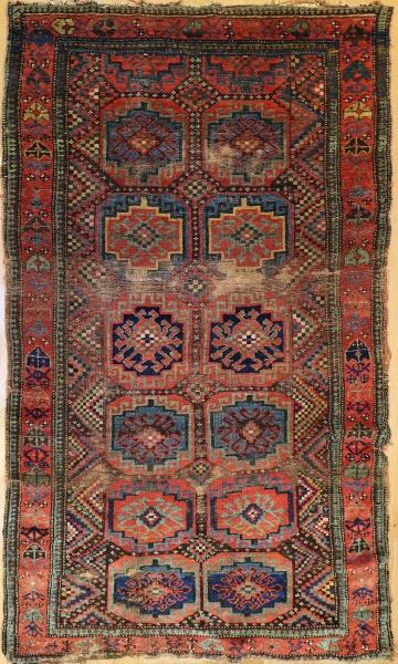 R4514 Antique Moghan rug
