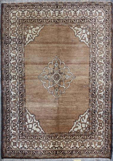 R374 Antique Oriental Carpet