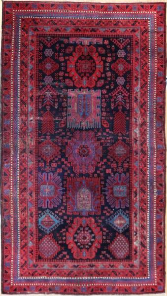R8361 Antique Persian Belouch Rug