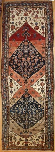 Antique Persian Carpet Runner R7987