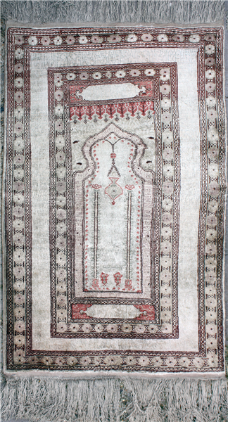 R5363 Antique Silk Rug