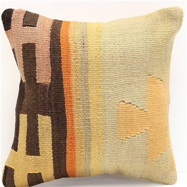 S203 Antique Small Kilim Pillow Cover