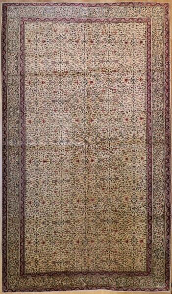 R8592 Antique Tabriz Persian Carpet