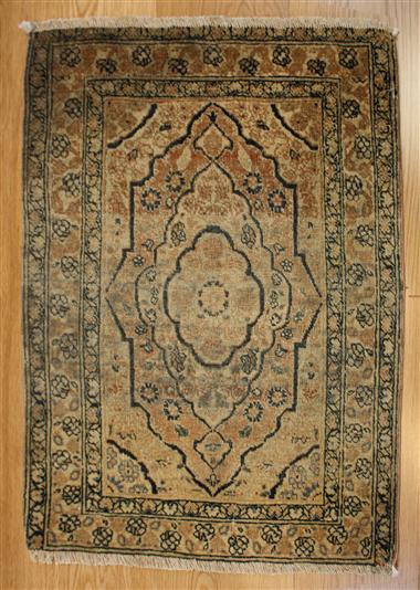 R4808 Antique PersianTabriz Rug