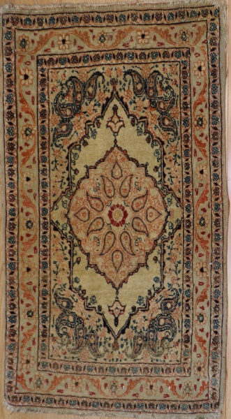 R3325 Antique Tabriz Rug