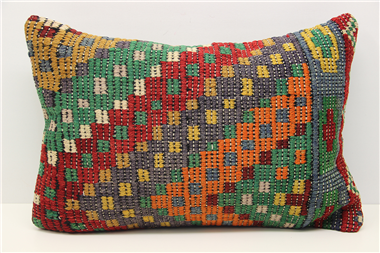 D41 Antique Turkish Kilim Cushion Cover