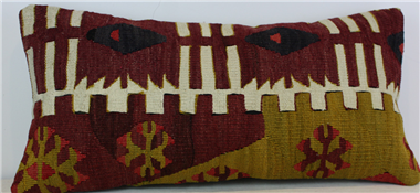 D108 Antique Turkish Kilim Cushion Cover