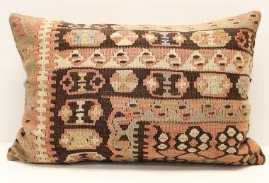D50 Antique Turkish Kilim Pillow Cover