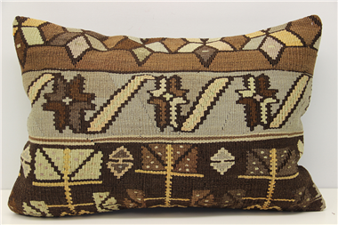 D291 Antique Turkish Kilim Pillow Cover