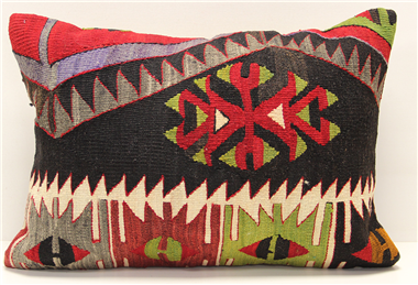 D233 Antique Turkish Kilim Pillow Cover