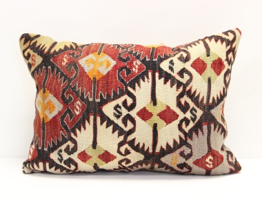D239 Antique Turkish Kilim Pillow Cover