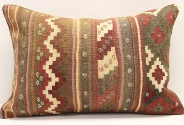 D403 Antique Turkish Kilim Pillow Cover