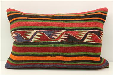 D423 Antique Turkish Kilim Pillow Cover