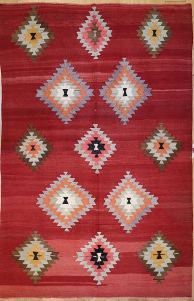 R8911 Antique Turkish Kilim Rugs