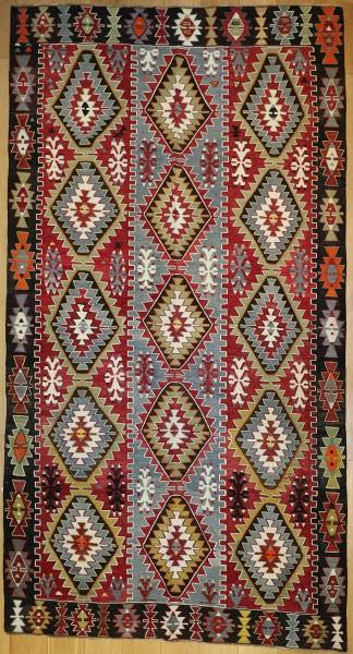 R8918 Antique Turkish Kilim Rugs