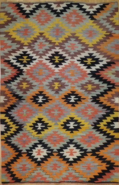R8921 Antique Turkish Kilim Rugs
