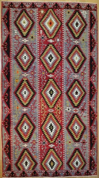 R8927 Antique Turkish Kilim Rugs