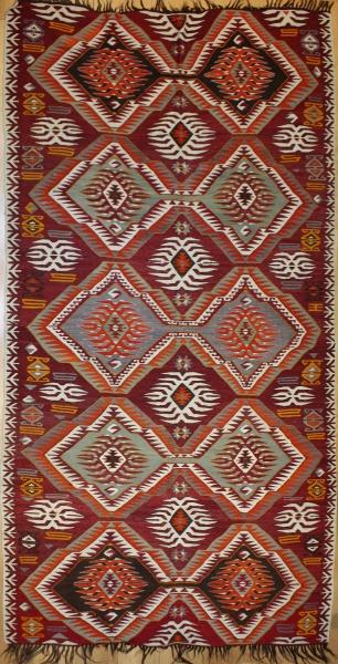R6046 Antique Turkish Kilim Rugs