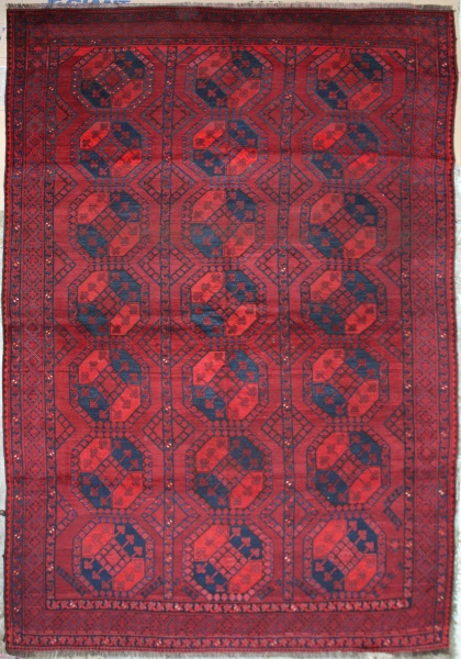 R1278 Antique Ersari Turkmen Carpet