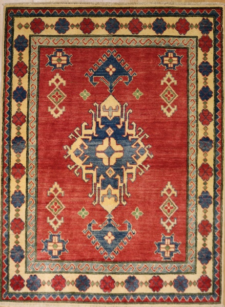R8852 Beautiful Afghan Kazak Carpets