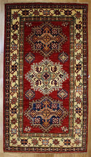 R8306 Beautiful Afghan Kazak Rugs