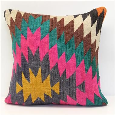 Beautiful Hand Woven Turkish Kilim Cushion Cover M1577